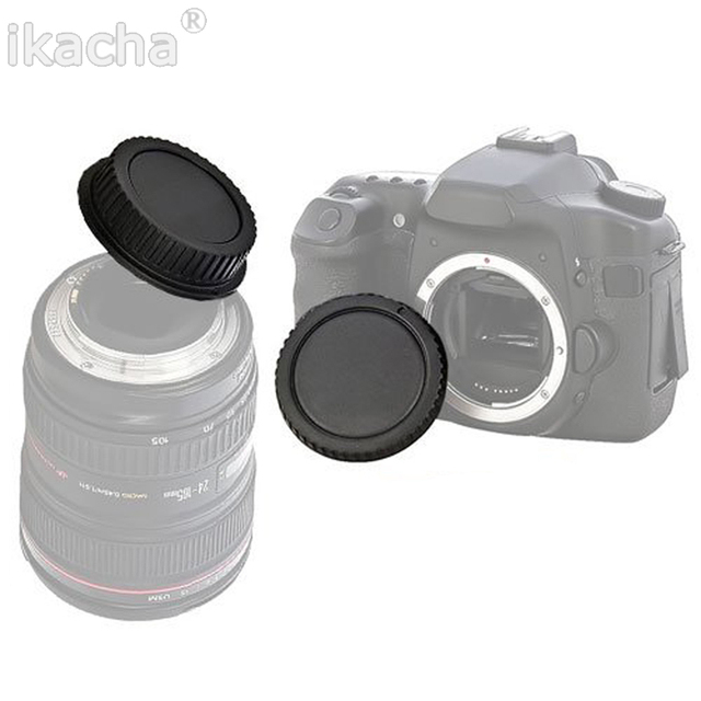 For Canon EOS Camera Body Cover + Lens Rear Cover Cap For Canon EOS mount for EF 5D II III 7D 70D 700D 500D 550D 600D 1000D