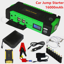 High Power 16000mAh Car Jumper Starter 600A 12V Portable Starting Device Car Charger For Car Battery