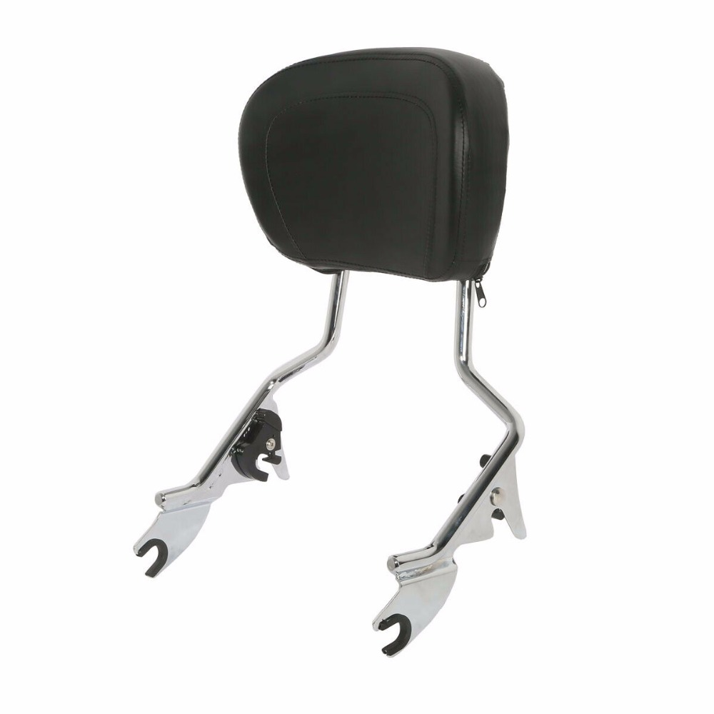 Image 4 - Motorcycle Backrest Sissy Bar Luggage Rack + Docking For Harley Touring Road King Street Glide Electra Glide CVO Ultra 2014 2019-in Covers & Ornamental Mouldings from Automobiles & Motorcycles