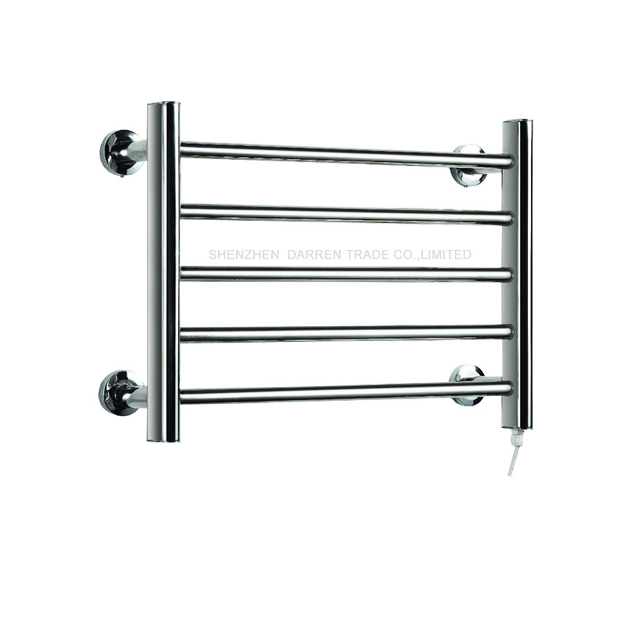 8pcs HeatedTowel Rail Holder Bathroom AccessoriesTowel Rack Stainless Steel ElectricTowel Warmer Towel Dryer & Heater Banheiro