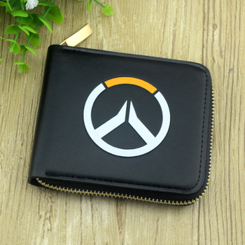 the Overwatch game man zipper wallet purse with Activities card holder Kids Wallets