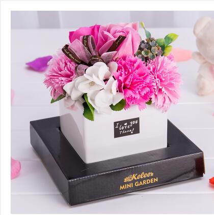 Soap Decoration Simulation-Roses Gift Christmas-Day-Gifts Creative Send Flower Bouquets