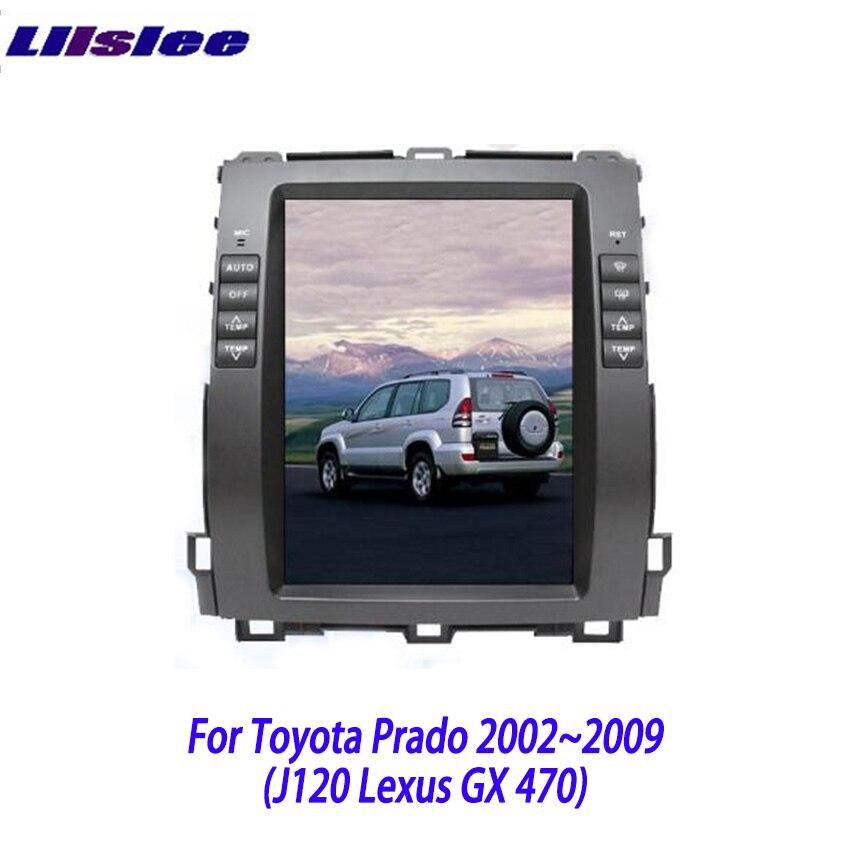 Liislee 2 din Android For Toyota Land Cruiser Prado For Lexus GX 470 2002 2009 Car
