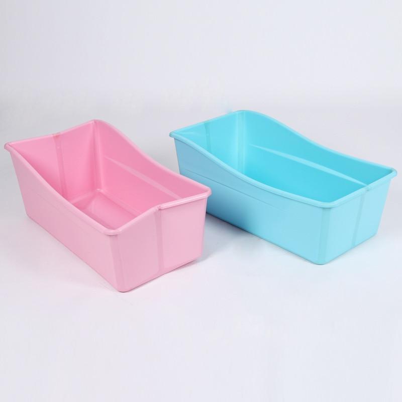 Large plastic baby bath tub luxury foldable kids bathtub-in ...