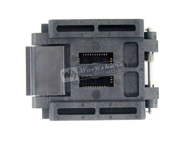 все цены на Modules Original brand new Enplas QFP44 FPQ-44-0.8-19 Enplas IC Test Burn-in Socket block Adapter 0.8mm Pitch TQFP44 FQFP44 PQFP онлайн