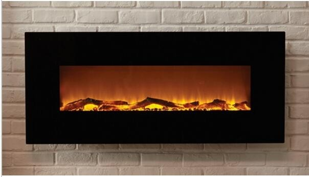 Free Shipping To Ireland 220v Wall Mounted Fake Flame Electric