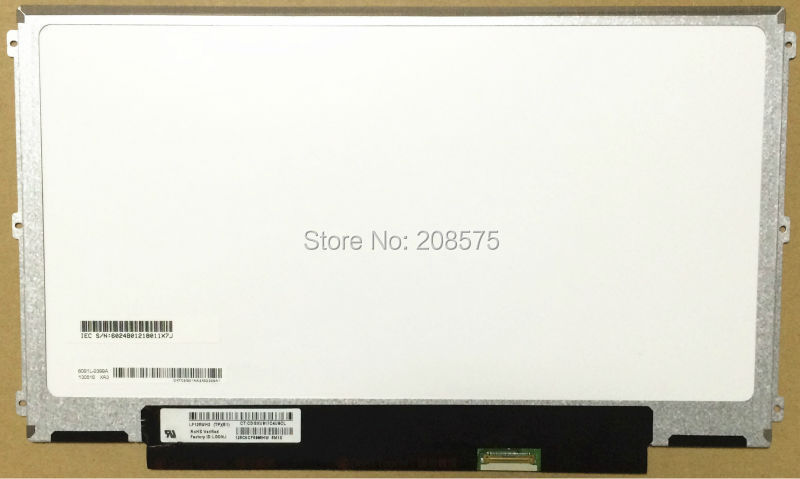 Free shipping! LP125WH2 TPB1 B125XTN02.0 HB125WX1-201 EDP 30pin Left+right 3 screw holes LCD Screen for dell E7240