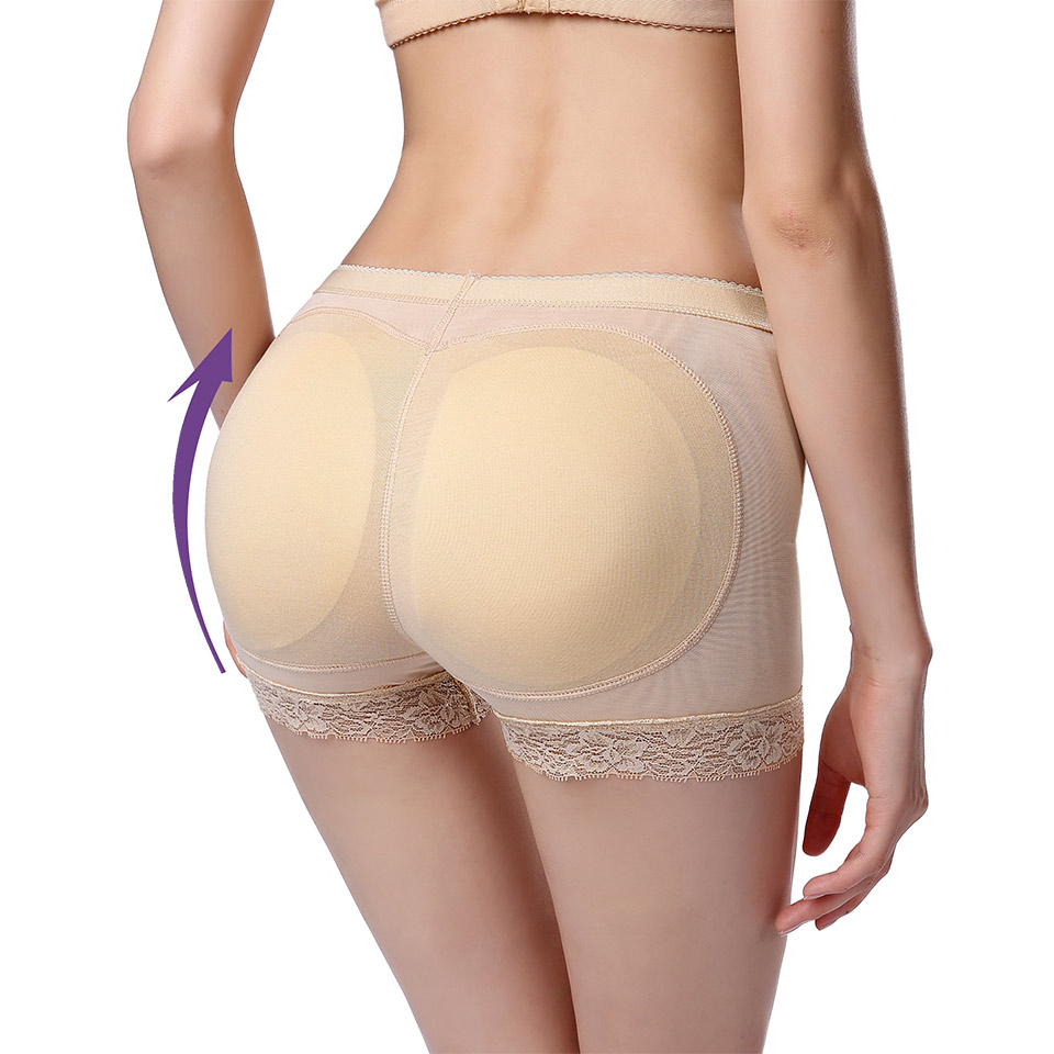Hip Enhancer Butt Lifter Shapewear Women Sexy Lingerie Plus Size S-3XL Reductoras Shapers Booty Padded Underwear Push Up Bottom