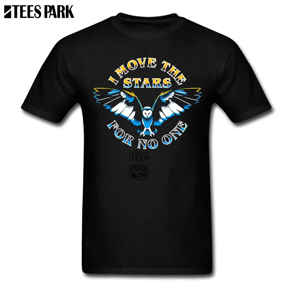 Cool Shirts For Guys I Move The Stars EagleStylish T Shirts Man 100% Cotton Short Sleeve twin Peaks Tshirt New Style Male Tees