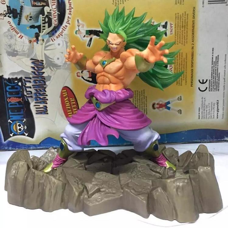 NEW hot 17cm Dragon ball Super saiyan Broli action figure toys collection Christmas gift doll new hot 17cm pikachu go snorlax action figure toys doll collection christmas gift