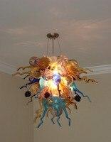 Design moderno Quente Lâmpada Da Arte Murano Esferas De Vidro Soprado Lustre Lustres de iluminação embutida