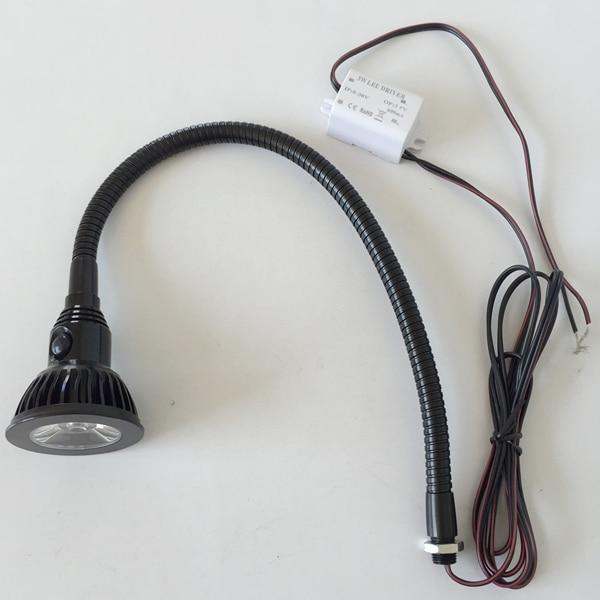 3W 24V 12 VOLT LED FLEX ARM MACHINE LIGHT