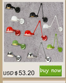 1423beb34 Click here to Buy Now!! العتيقة السوداء الرجعية الصناعية معدن السرير الجدار  مصباح مع سوينغ الذراع الطويلة لل ورشة نوم إضاءة الشمعدان تركيبات