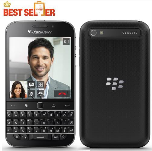 bilder für Klassische BlackBerry Q20 handy 4G LTE BlackBerry 2 GB RAM 16 GB ROM Dual Core 8MP Smartphones 3,5 zoll NFC HDMI DLNA WLAN