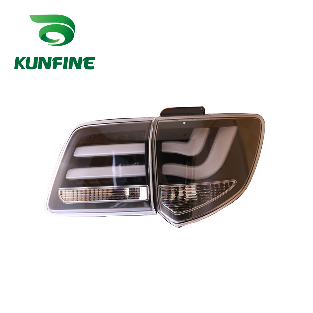 Kunfine Pair Of Car Tail Light Assembly For Toyota Fortuner 2012 2013 2014 2015 2016 Led Brake