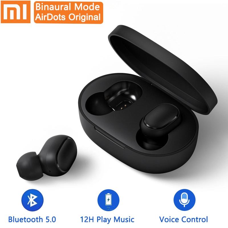 Xiaomi Redmi AirDots bluetooth earphone Mini True mi Wireless Bluetooth 5.0 earphones DSP Active Noise Cancellation Earbuds 1