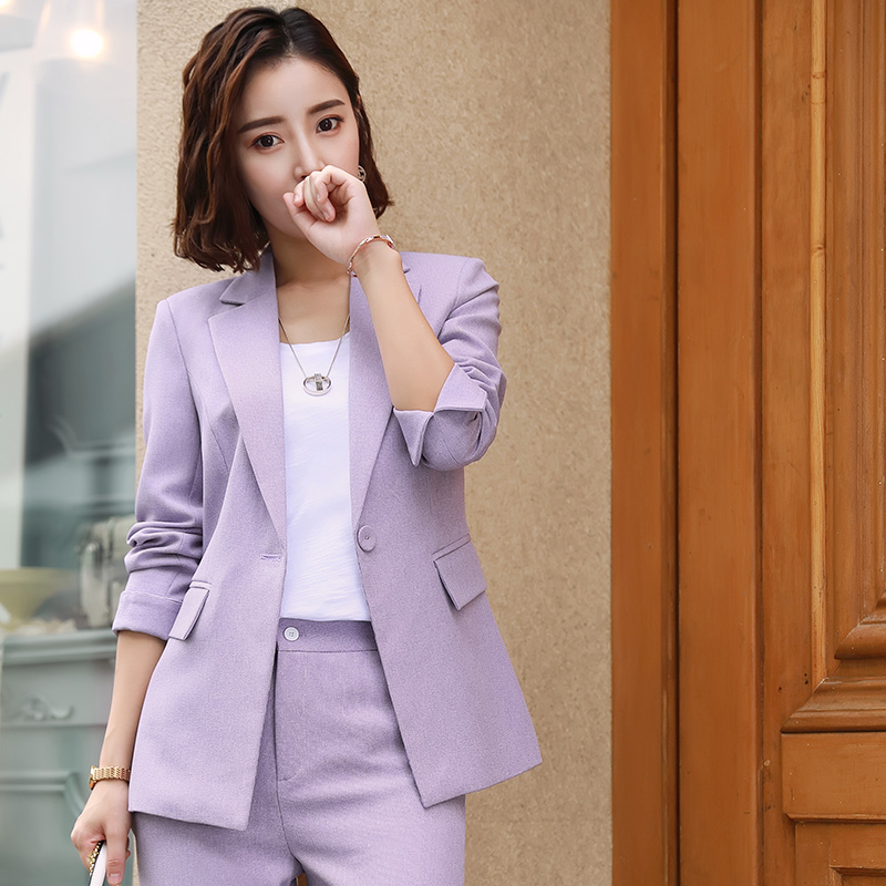 Hot Sale Women S 2 Pieces Set Formal Pant Suit With Pocket Women