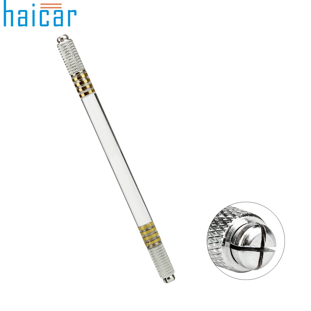 HAICAR 1pc New Microblading Pen Tattoo Machine Permanent Makeup Eyebrow Tattoo Manual Pen New Arrival J170115