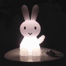 New Night Light Children Cartoon Bunny Rabbit Hare LED Table