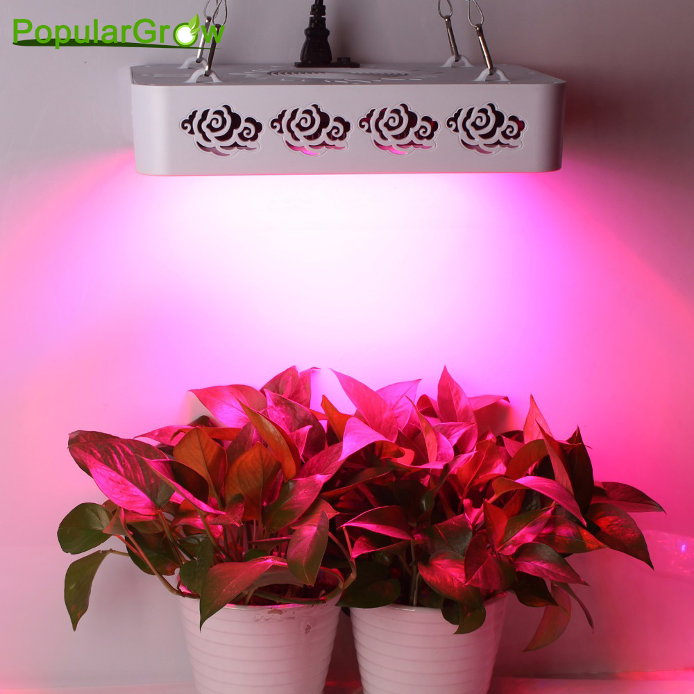 Upgrade 300W Full Spectrum led grow lights for all stage of hydroponics indoor greenhouse plant Veg flower growth stock in US/DE best full spectrum 300w led cultivate light for hydroponics greenhouse grow tent led lamp suitable for all plant growth 85v 265v
