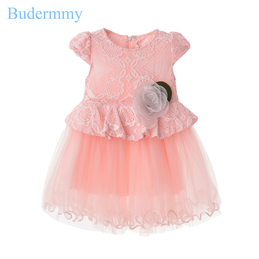 Whits Pink Girls Flower Dress Summer Princess Wedding Birthday Party Dress Baby Girl 2 3 4 5 6 Years Cute Clothes Toddler Dress baby girls white dresses for wedding and party wear girl princess dress kids lace clothes children costume age 3 4 5 6 7 8 9 10