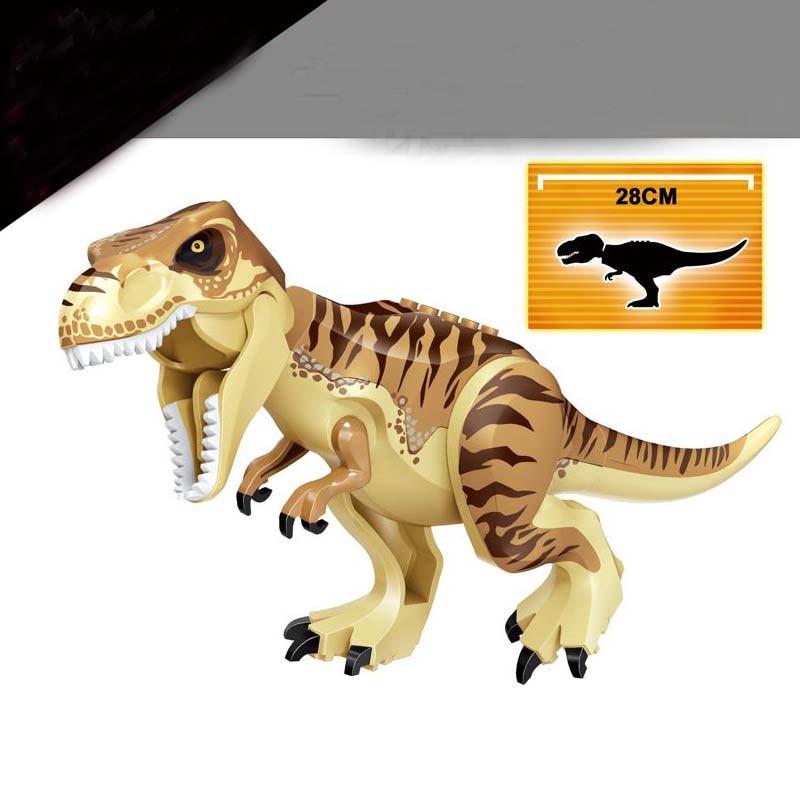 Jurassic Dinosaur World Indoraptor Building Blocks Jurrassic Dinosaur Figures Bricks Toys For Children Compatible with Legoing in Blocks from Toys Hobbies