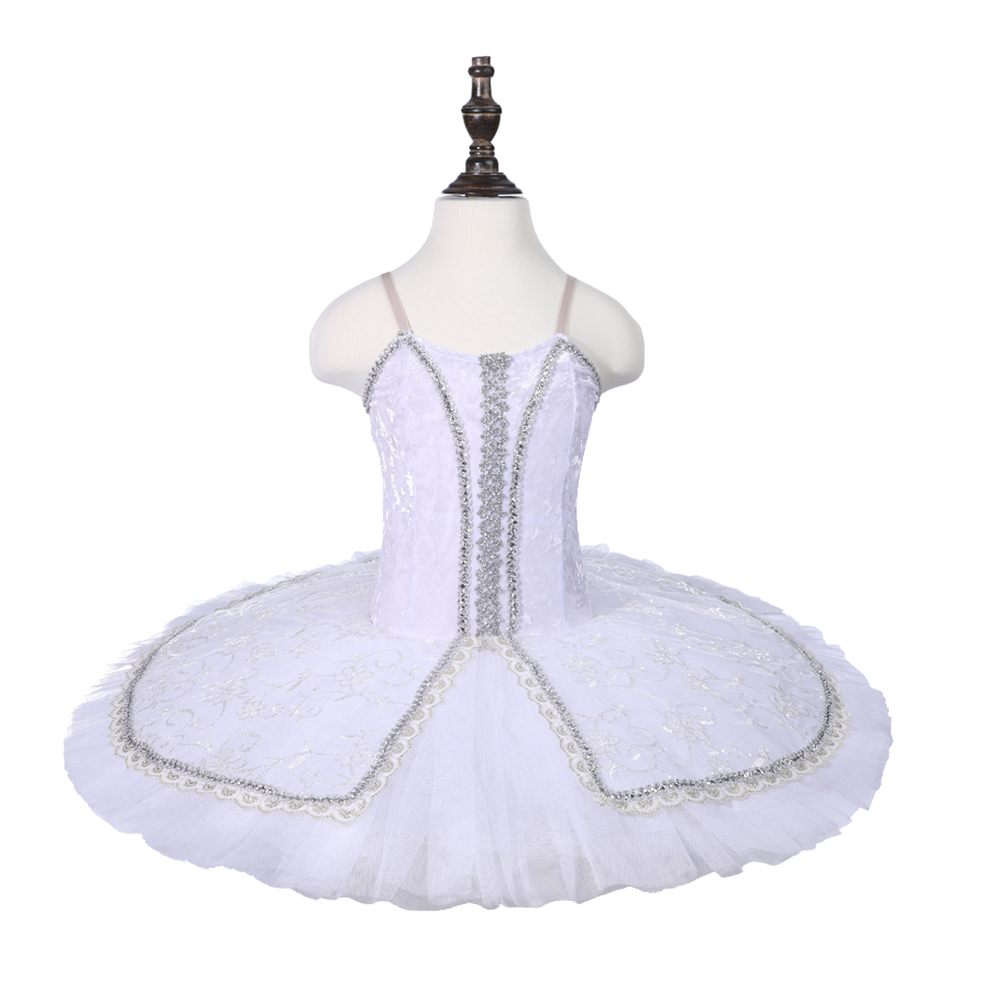Girls White Professional Ballet Tutu Swan Lake Performance Dancewear Kids Classical Ballet Dance Competition Costumes Adult in Ballet from Novelty Special Use