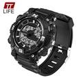 Fashion TTLIFE Brand 2016 Watch Men Hour Waterproof LED Sports Military Watch Men's Analog Quartz Digital Watch Luminous Clock