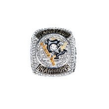 2016 Pittsburgh Penguins Stanley Cup Championship ring Size 6-14 para Quitar envío de negocios