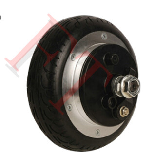 36v 350W 6 hub motor wheel ,Drum brake skateboard electric motor ,electric skateboard motor 4 wheel electric skateboard single driver motor small fish plate wireless remote control longboard waveboard 15km h 120kg