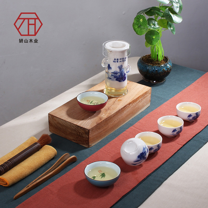 [Yan Mountain] Juhui Guci 11 sets of new Chinese kung fu tea wholesale gift ideas[Yan Mountain] Juhui Guci 11 sets of new Chinese kung fu tea wholesale gift ideas