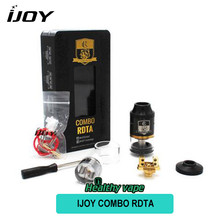 D'origine IJOY COMBO RDTA Réservoir 6.5 ml 7 Ponts En Option