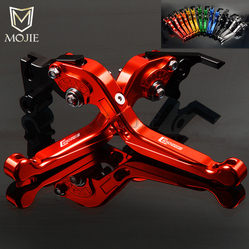 For BMW C650 Sport C650Sport C 650 Sport 2015 2017 Motorcycle Adjustable Folding Extendable Brake Clutch
