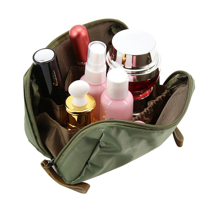 Portable Mini Nylon Cosmetic Bag Women Makeup Beauty Organizer Case Travel Make Up Bags