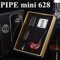 Kit com Três Cartuchos de fumaça de Cigarro eletrônico e tubo 628 apto para 510 Fio atomizador Vape E Pipe-628 Mini vapor X6268