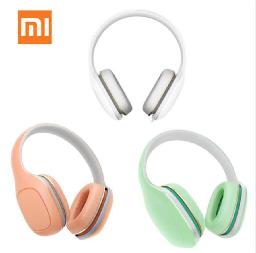 Global Version Original Xiaomi Mi Headphones Easy Edition With Mic Headset Stereo Music HiFi Earphone Button Control Headphone global global adv workbook
