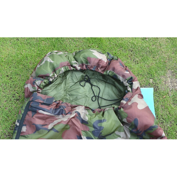 New-Sale-High-quality-Cotton-Camping-sleeping-bag-15-5degree-envelope-style-army-or-Military-or (2)
