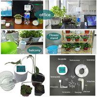 Plant Control Intelligent Garden Automatic Watering Controller Indoor Plants Drip Irrigation Device Water Pump Timer System