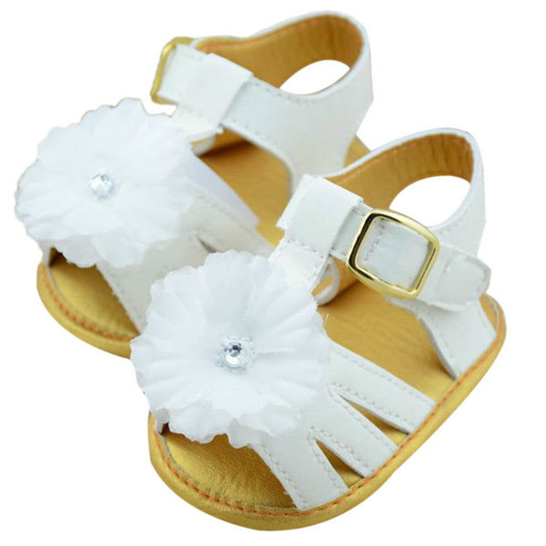 Baby-Girl-Summer-White-Flower-Infant-Soft-Sole-Princess-Shoes-Girls-First-Walkers-0-18-Months-SHM3-5
