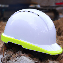 Outdoor Breathable Safety Helmet Work Cap Fluorescent Hard Hat Construction Protective Helmets Labor Engineering Helmet breathable hitting proof safety helmets construction site safety helmet v shape engineering protective helmet