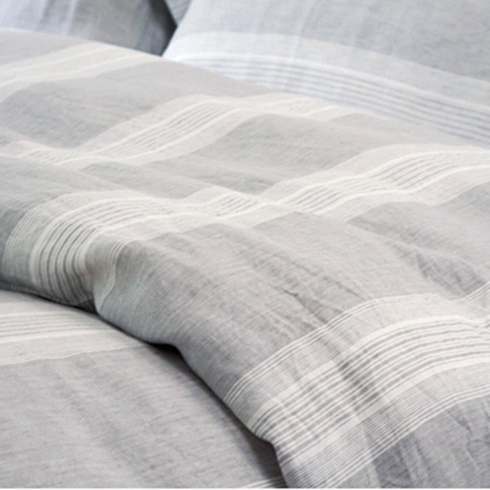 Washed Pure Linen Duvet Set French Flax Linen Bedding Set