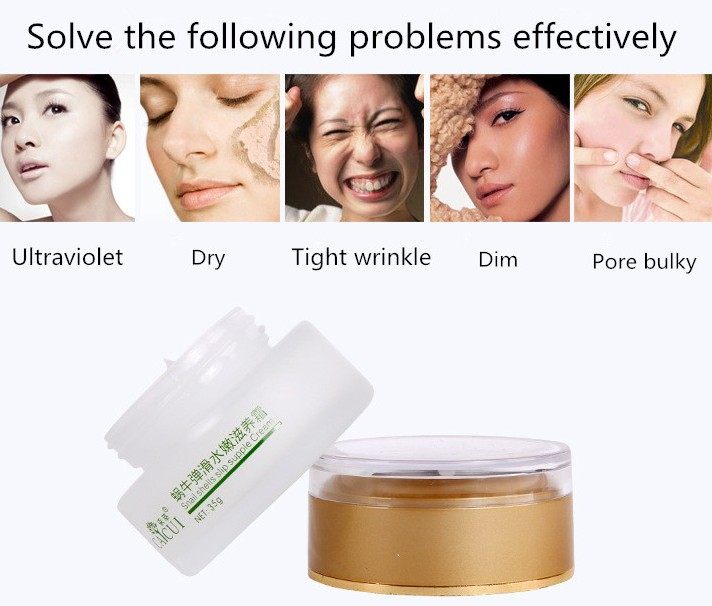 35g Face Care Face Cream Day Creams CAICUI Korea Gold Snail Extract Whitening Moisturizing Cream Anti-aging Anti wrinkle 1