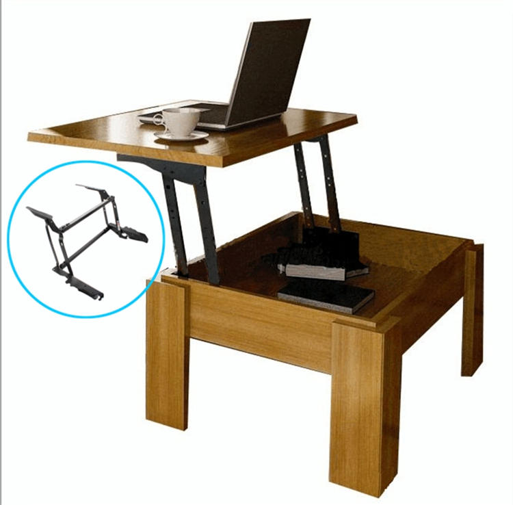 space saving furniture mechanism of coffee table lift springlift top coffee table mechanism