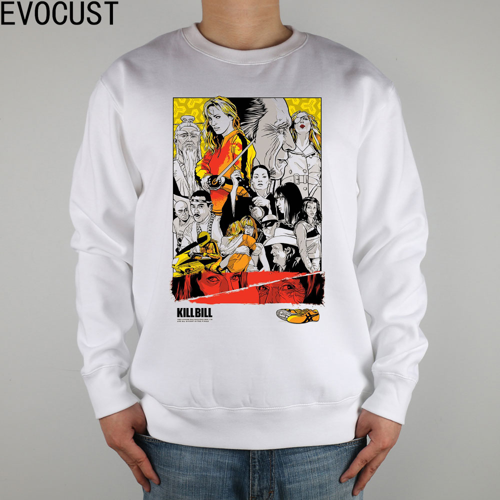 Kill Bill Quentin Tarantino ART men Sweatshirts Thick Combed Cotton