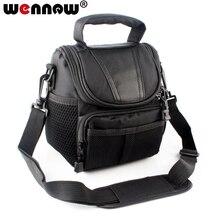 Wennew torba na aparat fotograficzny Case torba na ramię dla YI M1 z 12 40mm 42.5mm obiektyw lustra cyfrowe pokrowiec kamery