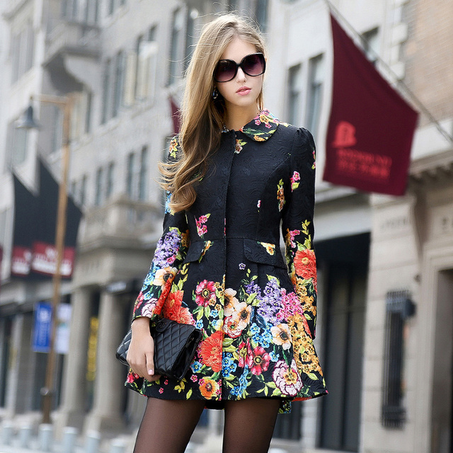 High Quality Russian Fashion Designer 2018 Women Autumn