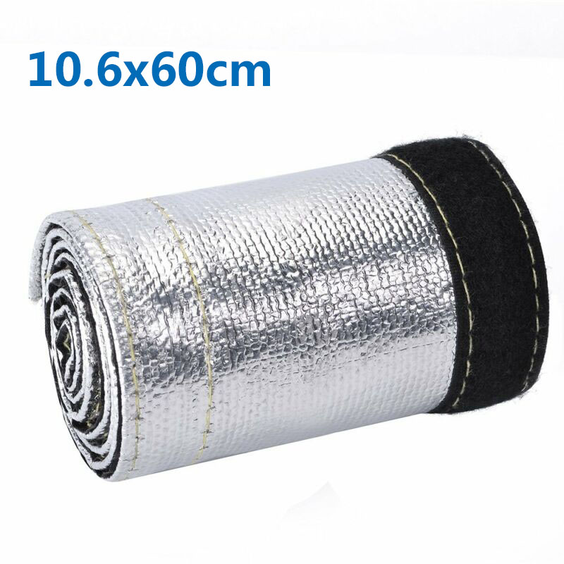 Car Hose Cover Wrap Wire Tubing Insulated Heat Shield Intercooler Pipe Sleeve Auto Replacement Parts Accessories