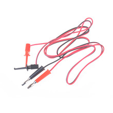 4mm for Digital Multimeter Multi Meter Tester Equipment Lantern Plug to Test Hook Clip Probe Test Leads Wire Cable