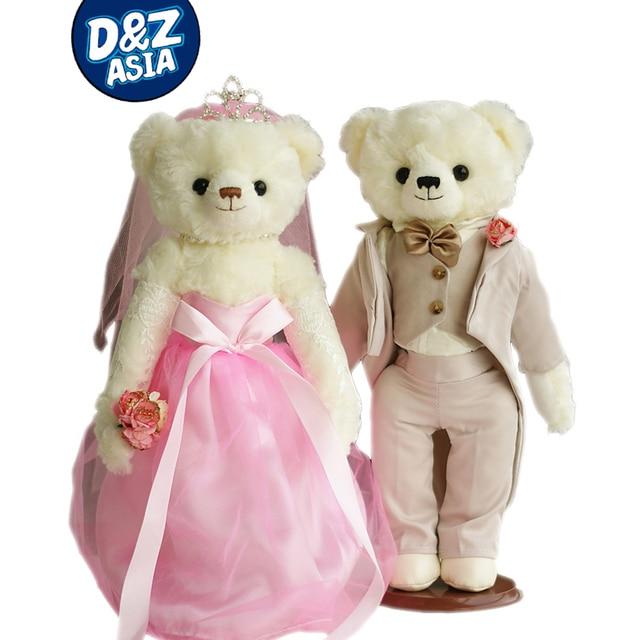 Hot selling Wedding Couple Bears Korean dramas Palace Bear wedding doll  wedding gift 5d02af2163