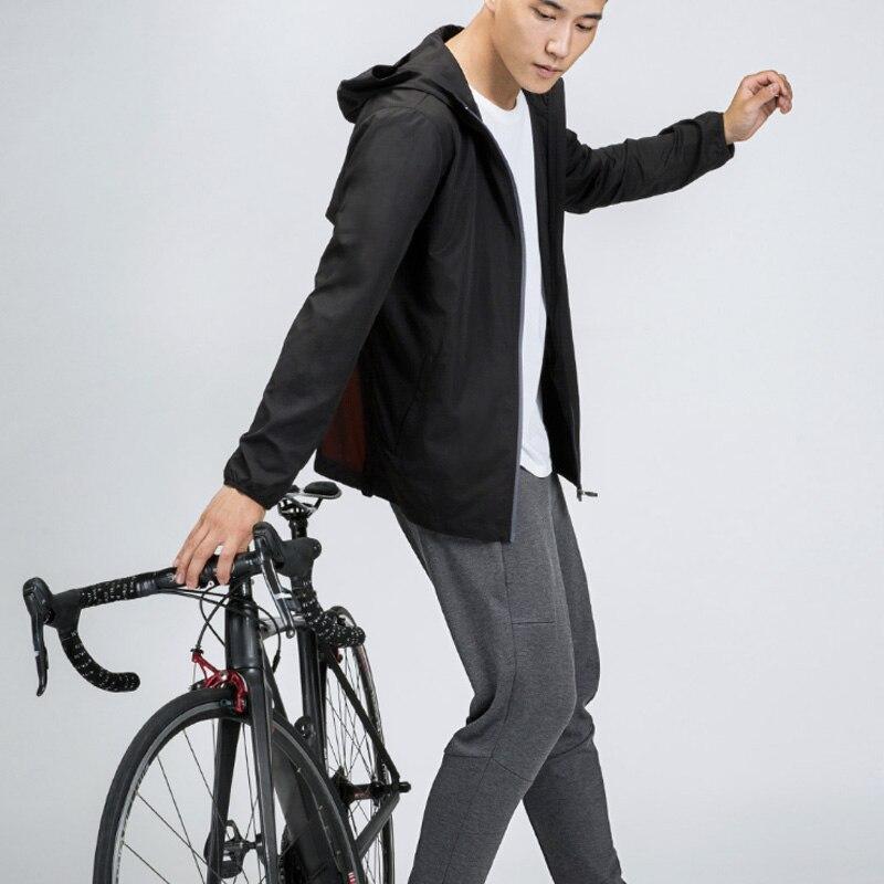 Xiaomi Youpin 7th sac de transport résistant coupe vent sac à dos étanche extérieur veste hommes vêtements Sport porter sac à dos-in Sacs from Electronique    3